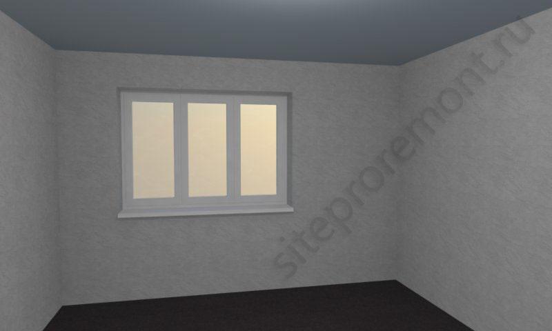 Виртуальная комната пуста