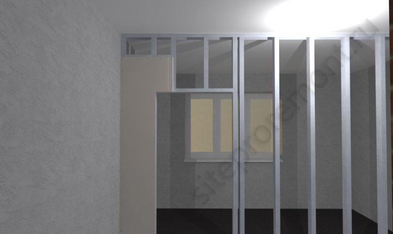 Дверь в перегородки из гипсокартона своими руками