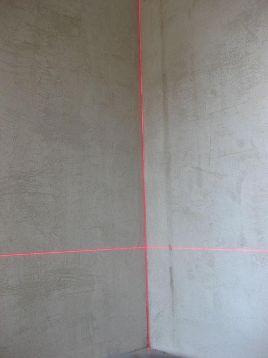 Проверка угла лазером