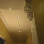 Потолок из гипсокартона своими руками в прихожей