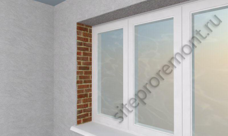 Окно в виртуальной комнате