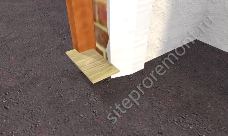 Шаблон для дверного откоса