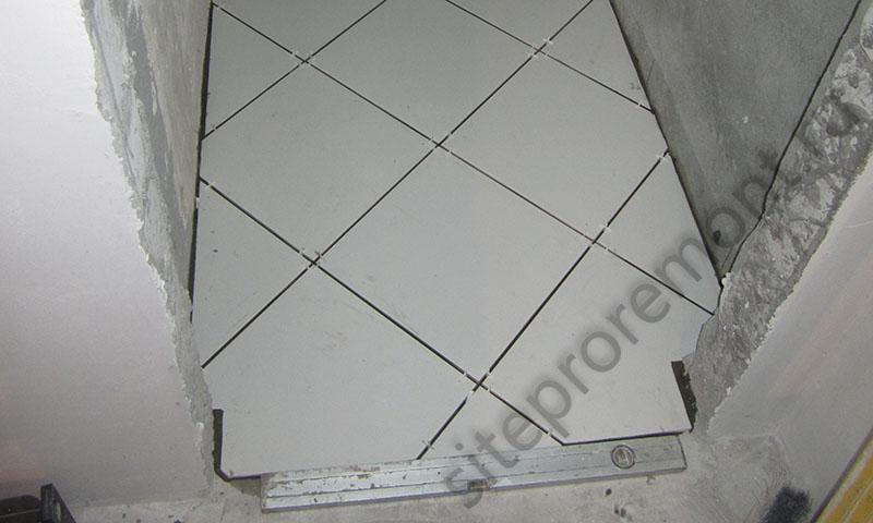 Укладка плитки своими руками на пол