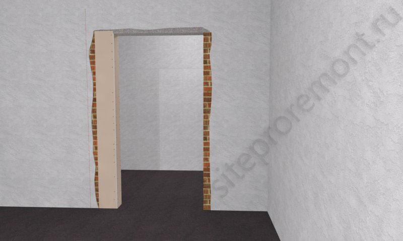 Сужение дверного проема