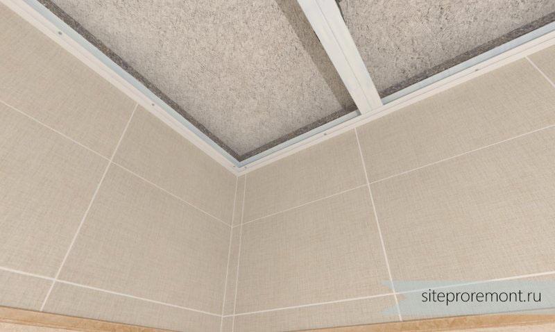 Как правильно резать потолочный плинтус в стусле