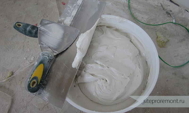 Как сделать шпаклевку по цементу 85