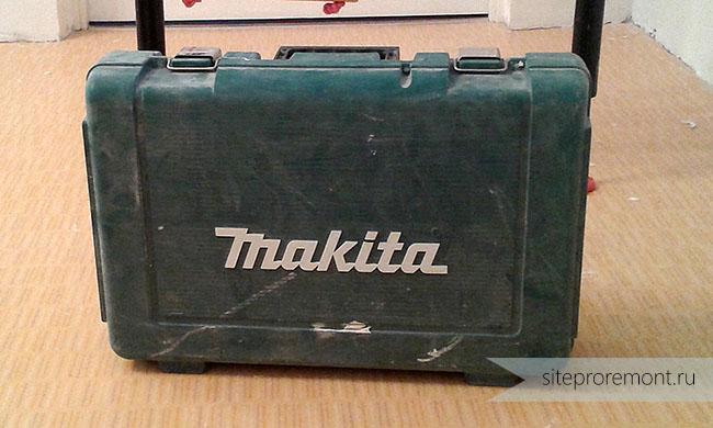 Пластиковый кейс для инструмента
