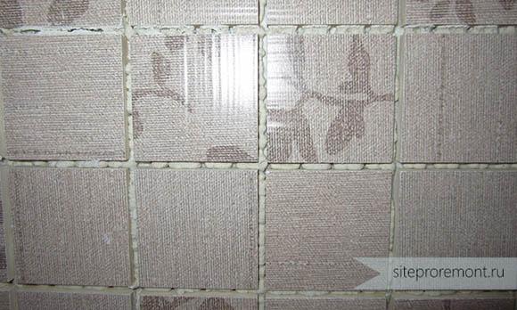 Мозаика на белом клею