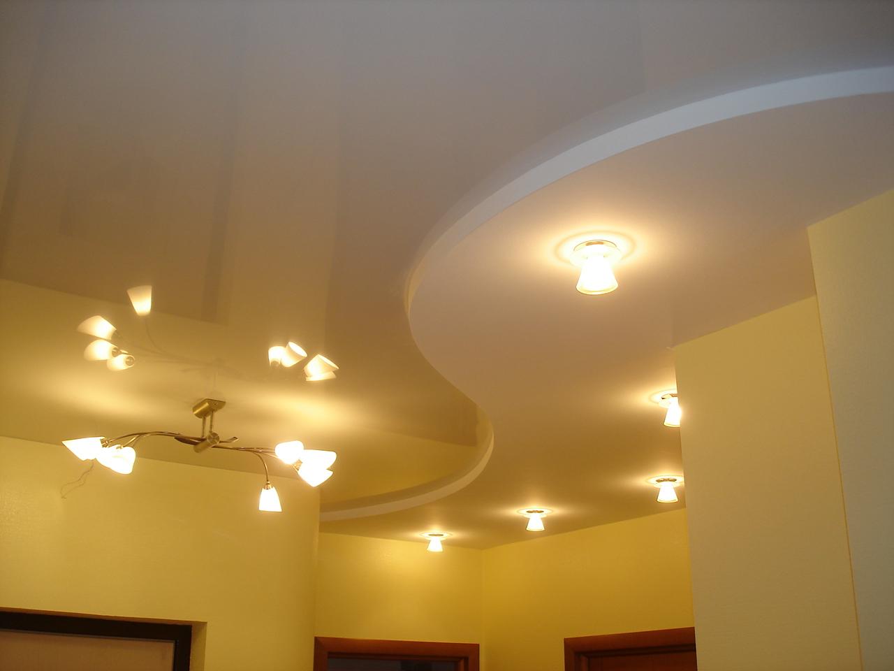 Ярусные потолки из гипсокартона