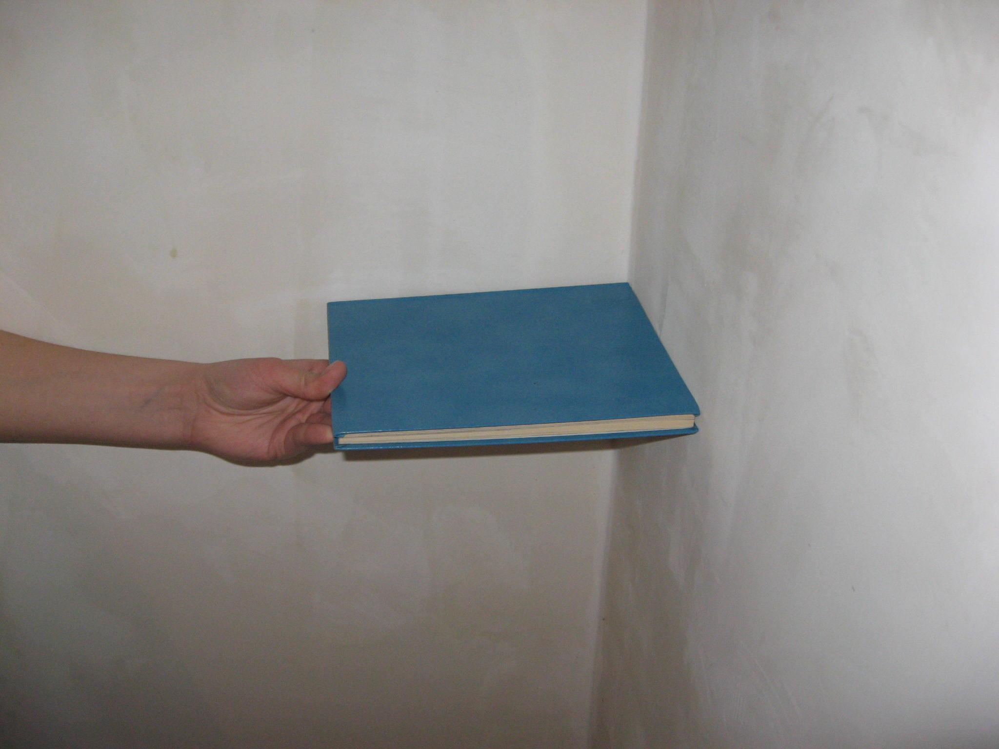 Делаем прямой угол между стенами