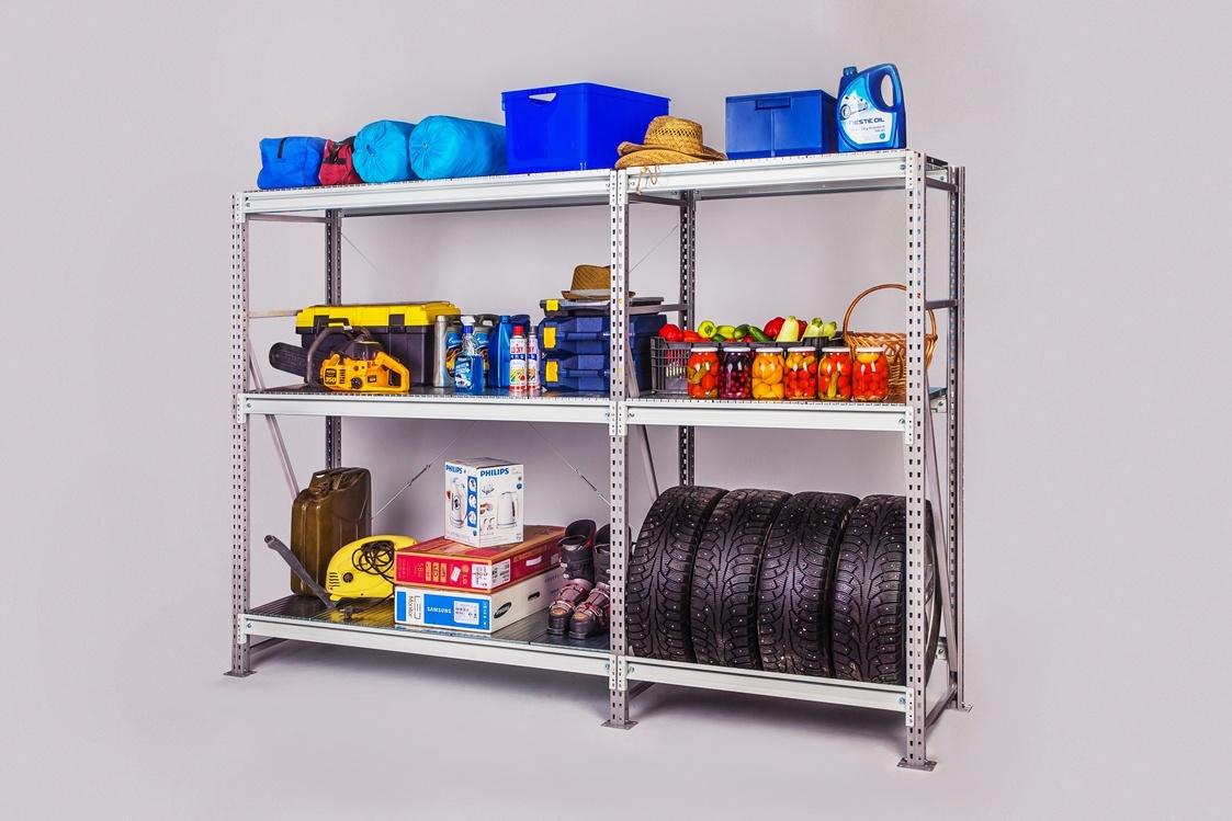 Идеальный порядок в гараже: полки и стеллажи своими руками