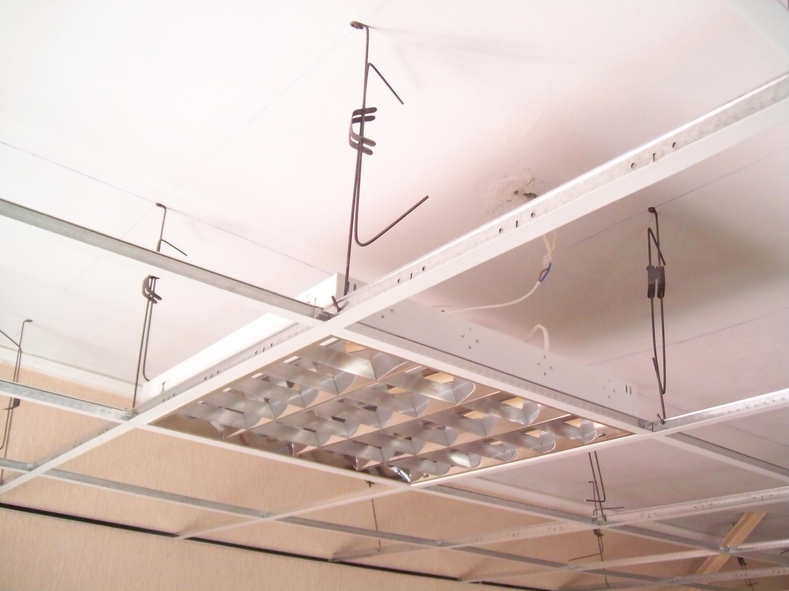 Конструкции потолка своими руками
