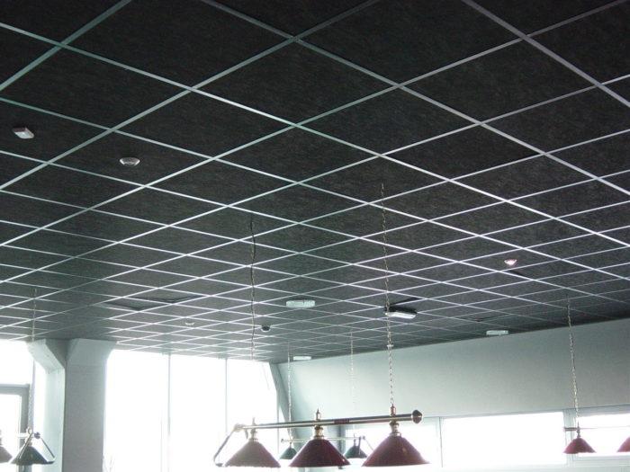 Как правильно выбрать потолок Армстронг, преимущества использования, характеристики, виды