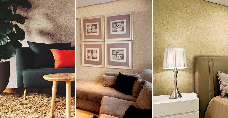 Фактурные краски для стен: как пользоваться