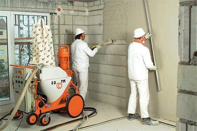Подготовка стен к финишной отделке