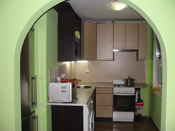 Отделка кухни в стиле прованс в хрущевке фото